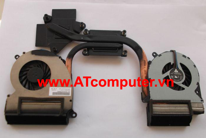 FAN CPU HP Envy 17-3000, 17T-3000 Series. Part: 6043B0107801, 665908-001
