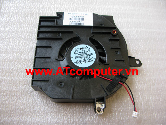 FAN CPU Compaq Business Notebook NW9440, NX9420 Series. Part: 409932-001, DFB601705M30T(FDC8-CW), ATZKF000300