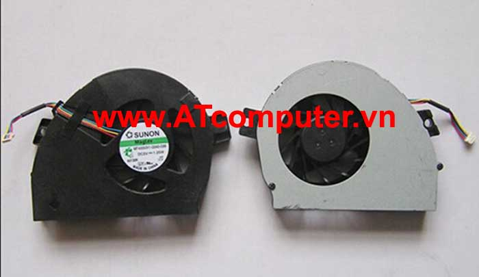 FAN CPU HP Pavilion DM3, DM3-1000, DM3-2000 Series. Part: GB0507PFV1-A, 13.V1.B4179.F.GN, 580696-001