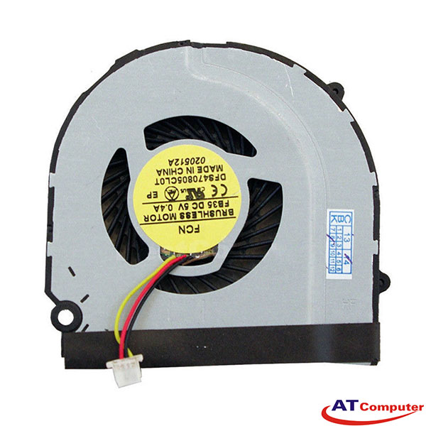 FAN CPU HP Pavilion DM3-3000 Series. Part: 619440-001, DFS601305PQ0T(FA1N), KSB06105HB(-AD38)