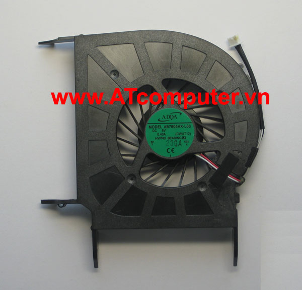 FAN CPU HP Pavilion DV7-3000, DV7-3100 Series. Part: AB7805HX-L03, CWUT12, DFS551305MCOT(F80A)