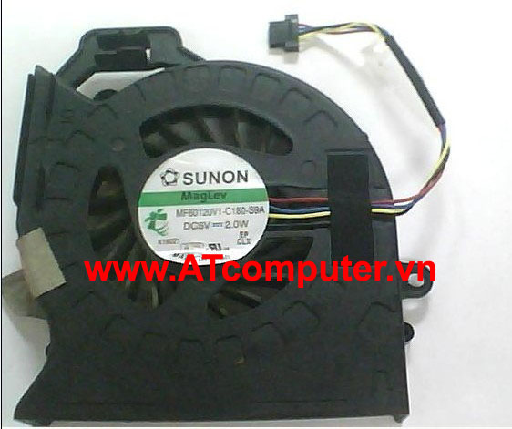 FAN CPU HP Pavilion DV6-6000. DV7-6000 Series. Part: KSB0505HB-AJ77, 650847-001, 653627-001, 650848-001, MF60120V1-C180-S9A, MF60120V1-C181-S9A