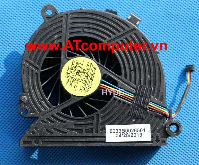 FAN CPU HP 18, ALL-IN-ONE 18-1200CX Series. Part: DFS651312CC0T, 6033B0026501