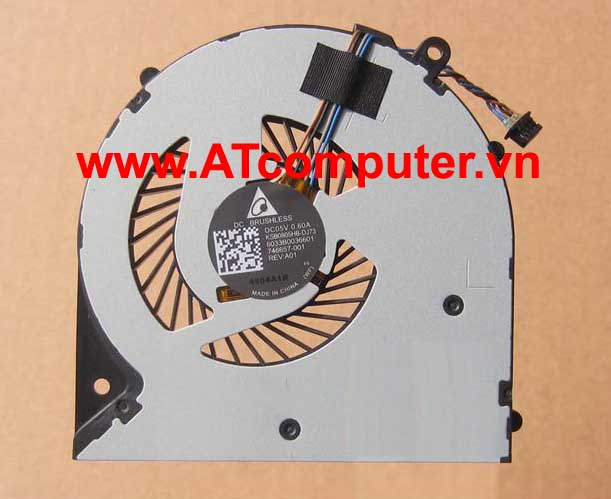 FAN CPU HP 350 G1, 350 G2, 355 G1, 355 G2 Series. Part: 746657-001, KSB0805HB(-DJ73), 6033B0036601
