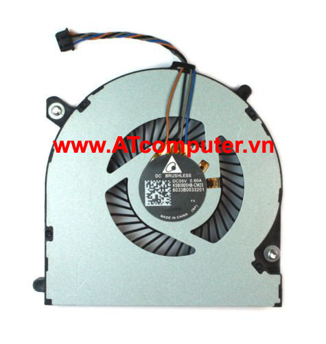 FAN CPU HP EliteBook 840 850, ZBook 14 Series. Part: 730792-001, KSB0805HB-CM23, 6033B0033202