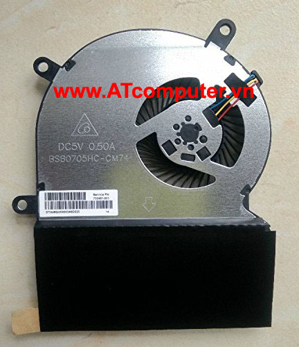 FAN CPU HP Envy Rove 20-K000, 20-K100 Series. Part: BSB0705HC(-CM74), NFB90A05H-002, FSFT4B5M, 728050-001