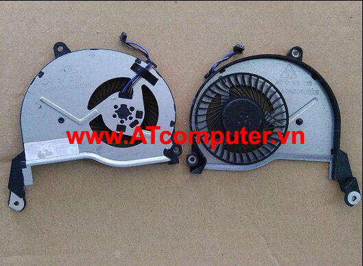 FAN CPU HP Pavilion 15-N, 15-N000 Series. Part: AB08805HX070B00(0CWU83), 736218-001, DFS531105MC0T(FFQ9), BSB0705HC(-DC20), FB5007M05SPA-001, 732068-001, 736278-001