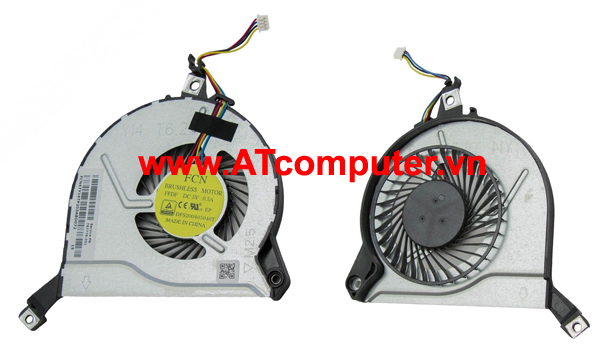 FAN CPU HP Pavilion 15-P000, 15-P100, 15-P200, 15-K Series. Part: 722437-001, 763700-001