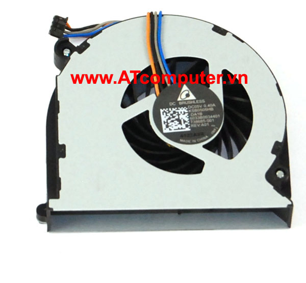 FAN CPU HP Probook 640, 645, 650, 655 Series. Part: 738393-001, 6033B0034401, 738685-001