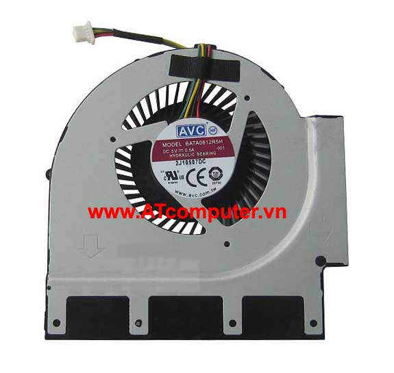 FAN CPU IBM ThinkPad T520, T520i Series. Part: BATA0812R5H-001, BATA0812R5H-004