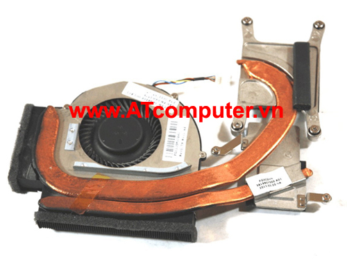 FAN CPU IBM ThinkPad T510, T510i Series. Part: 04W0439, 04W1578, 04W1579, 75Y5782