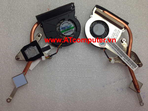 FAN CPU IBM ThinkPad X200 Series. Part: GC055010VH-A, 13.V1.B3591.F.GN, 45N3131, 60.4Y425.001