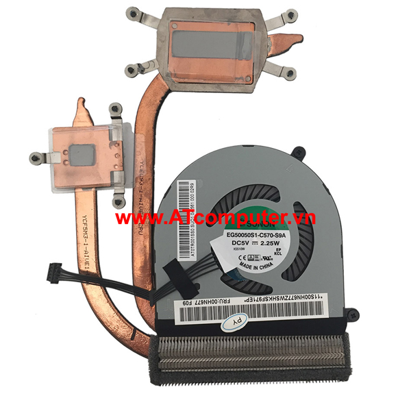 FAN CPU IBM ThinkPad E450, E450C, E455 Series. Part: 00HN677
