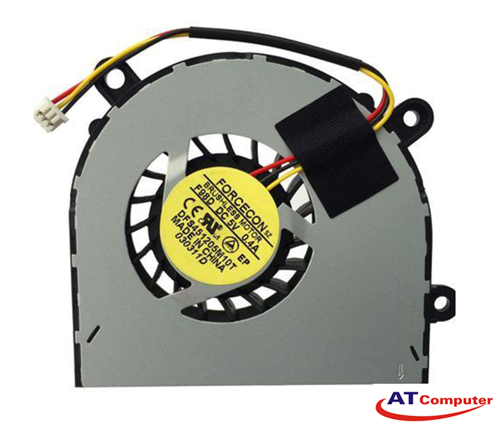 FAN CPU MSI A6500, CR650, FX600, FX610, FX620, GE620 Series. Part: DFS451205M10T(F98D), E33-0800220-F05