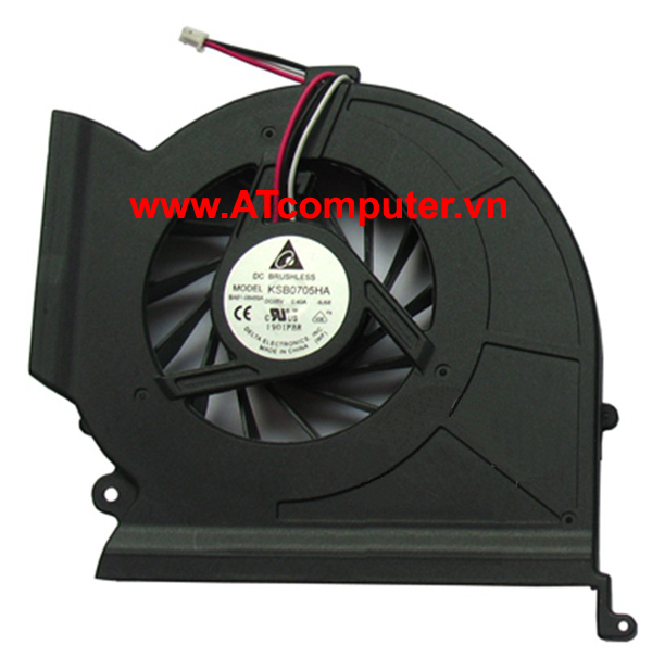 FAN CPU SAMSUNG NP-R780, NP-R770, NP-R711 Series. Part: DFS651605MC0T(F8V7-1), KSB0705HA(-9J68)