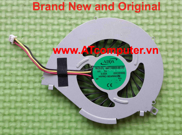 FAN CPU SONY VAIO FIT 14, SVF142, SVF14E Series. Part: 3VHK8TMN030, 3VHK8TMN010, AB07405HX080300(00CWHK8)