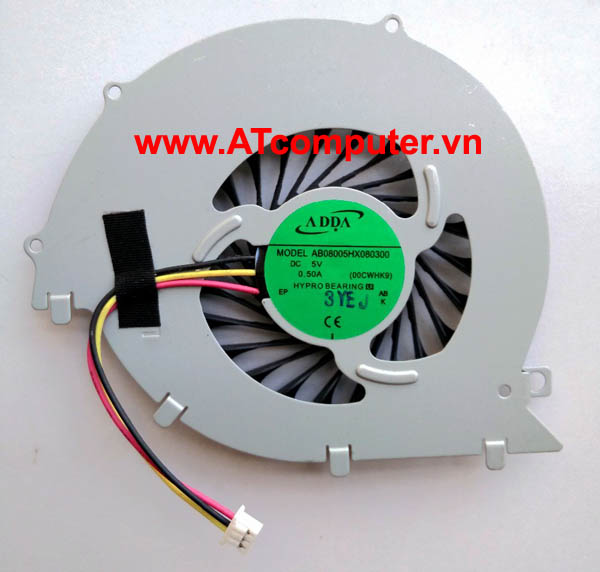 FAN CPU SONY VAIO SVF152 Series. Part: AB08005HX080300(00CWHK9)
