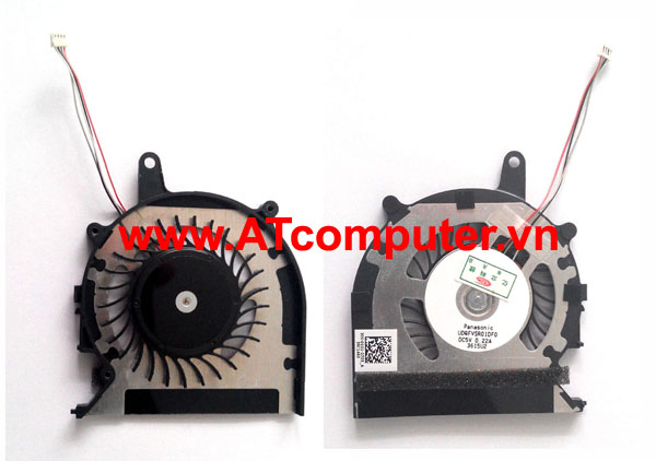 FAN CPU SONY VAIO SVP13, SVP132, SVP132A Series. Part: UDQFVSR01DF0, 300-0101-2755_A