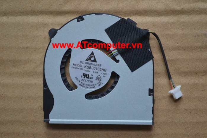 FAN CPU SONY VAIO SVT15, SVT151A11L, SVT15115CXS Series. Part: AB05505HX060B01(0Z50UL), 23.10744.011
