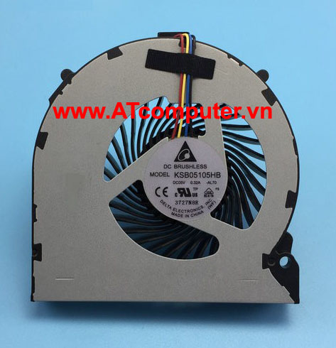 FAN CPU SONY VAIO VPC-EH Series. Part: KSB05105HB(-AL70), 60.4MS03.051, 60.4MS03.001, 60.4MS03.011, 23.10507.021