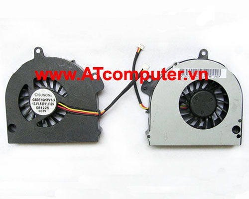 FAN CPU TOSHIBA Satellite A500, A505, A505D Series. Part: GB0575PHV1-A, 13.V1.B3993.F.GN