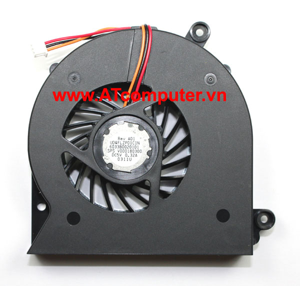 FAN CPU TOSHIBA Satellite A500, A505, A505D Series. Part: UDQFLZP01C1N, 6033B0020101