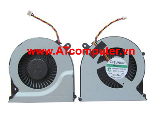 FAN CPU TOSHIBA Satellite C850, C870, L850, L870, L875 Series. Part: MF60120V1-C570-G99, MF60090V1-C450-G99