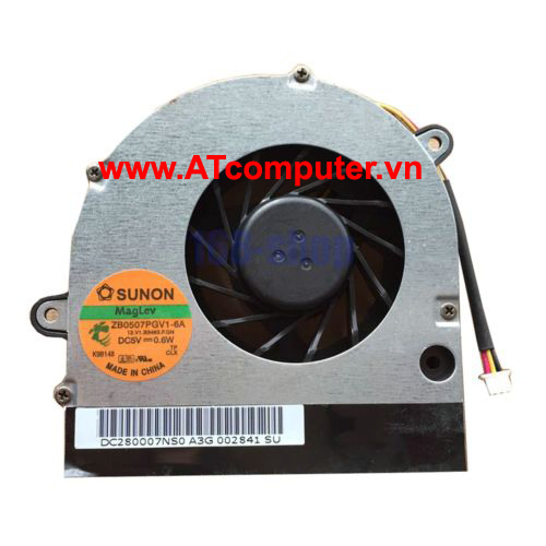 FAN CPU TOSHIBA Satellite C670, C670D, L775 Series. Part: KSB06105HA-AL1S, UDQFLJP02CAS, DC280004TF0, 13N0-Y3A0Y01