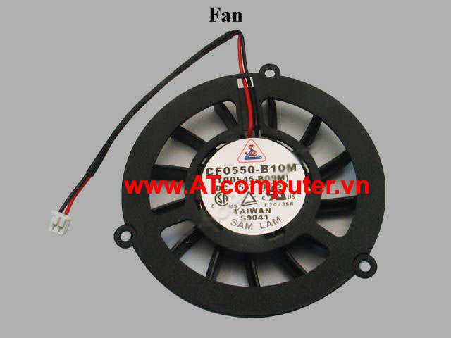 FAN CPU TOSHIBA Satellite M35X, M35X-S149 Series. Part: CF0550-B10M