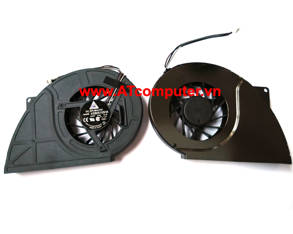 FAN CPU TOSHIBA Qosmio X500, X505 Series. Part: KSB05105HA(-8L1W), A000051180