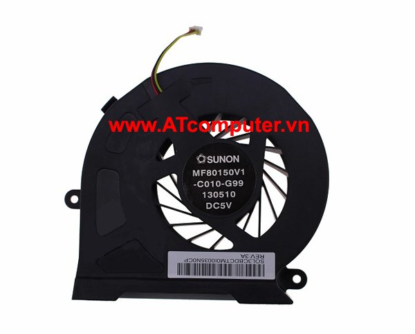 FAN CPU TOSHIBA Qosmio X70, X75 Series. Part: MF80150V1-C010-G99, SOL3BDCTM0I0035N0FS