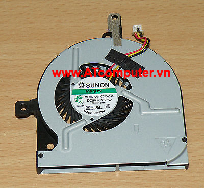 FAN CPU TOSHIBA Satellite C55-B, C55T-B Series. Part: DC28000EPS0, AT15H0010C0, MF60070V1-C330-G99