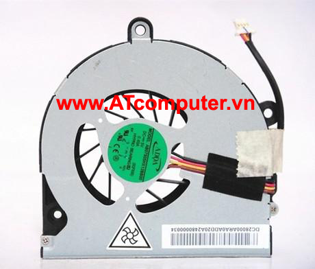 FAN CPU TOSHIBA Satellite P850, P855, P855D Series. Part: K000131490, DC28000ARA0, DC28000ARD0