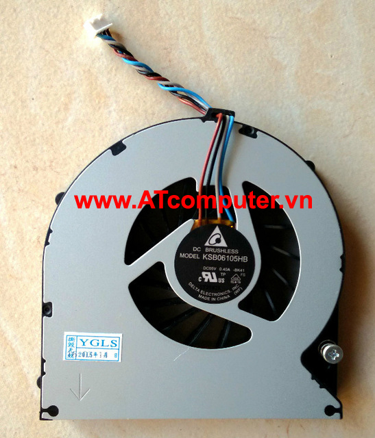 FAN CPU TOSHIBA Satellite P870, P875 Series. Part: V000280260, V000280270, KSB06105HB(-BK41)