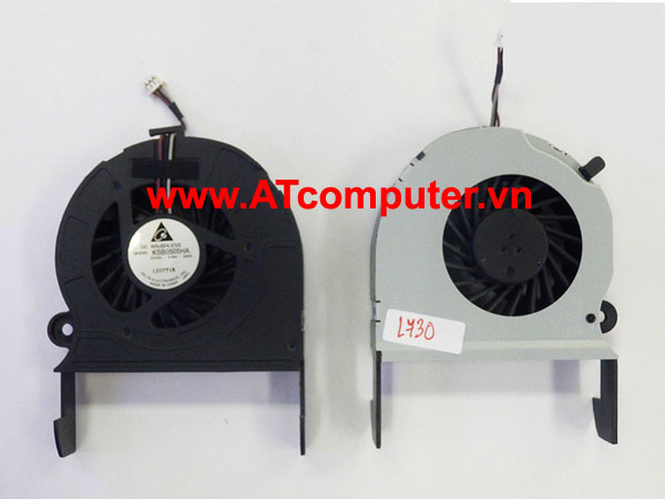 FAN CPU TOSHIBA Satellite L730, L735 Series. Part: KSB0505HA(-AK42), UDQFRJP02CQU