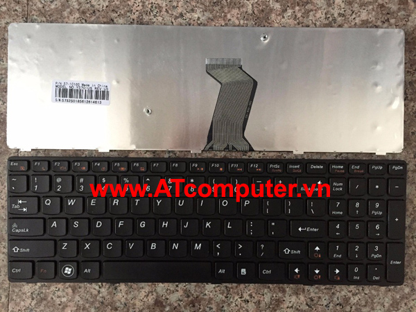 Bàn phím IBM IdeaPad Y570N, Y570, Y570D, Y570I. Part: 25011741, 9Z.N6ESC.001, 25011801, MP-10K53US-686