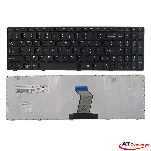Bàn phím Lenovo Ideapad Z560, Z560A, Z565, Z565A. Part: 25-010793, V-117020AS1, V-117020AS1-US