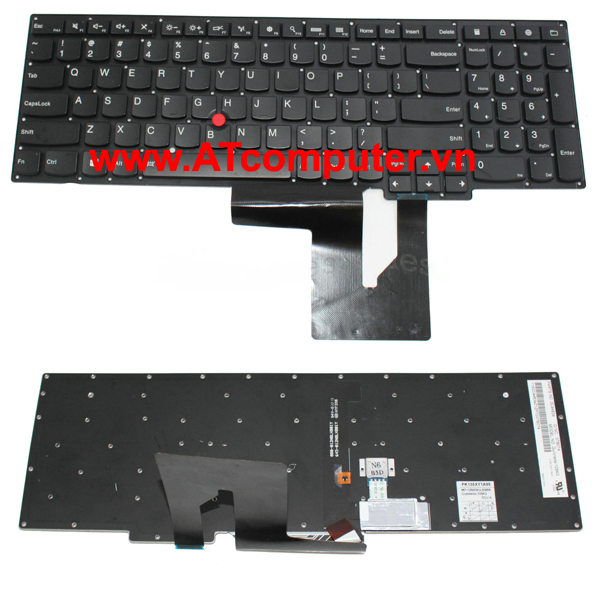 Bàn phím IBM ThinkPad S540, S531 Series. Part: 0C44876