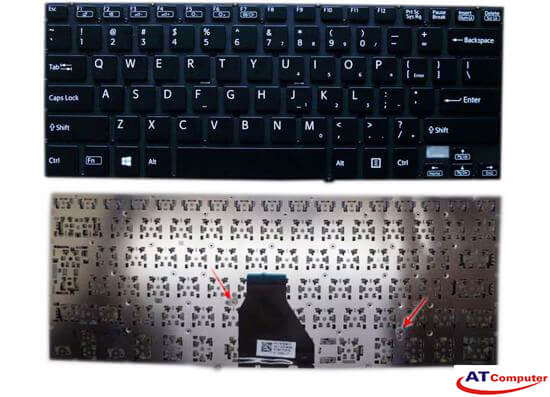 Bàn phím Sony Vaio FIT 14A, SVF14A Series. Part: 14923822US, 9Z.NABBQ.001, AEGD5U010103A