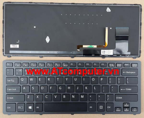 Bàn phím SONY VAIO FIT 14N, SVF14N Series. Part: 9Z.NABBQ.401, 149263721US