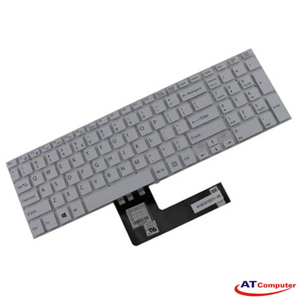 Bàn phím Sony Vaio FIT 15, SVF15, SVF15A Series. Part: MP-12Q66LA63561W