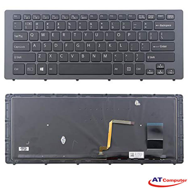 Bàn phím Sony Vaio FIT 15N, SVF15N Series. Part: 149264921US, AEFI3U000103A, 9Z.NABBQ.701