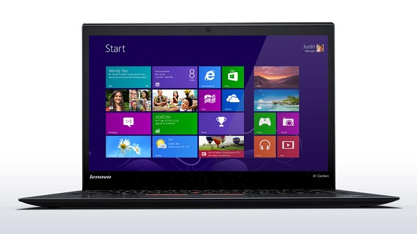 "Lenovo Thinkpad X1 Carbon, i7-4300U, Ram 8G, SSD 256Gb, 14.0"" HD+ 1600X900"