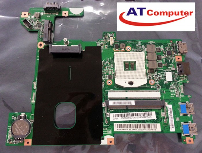 MainBoard LENOVO G480 HM70, VGA share. Part: LG4858L, 48.4WQ02.011