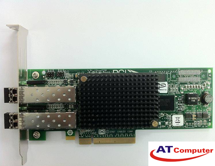 HP 82E Dual Port 8Gb Fibre Channel HBA. Part: 489193-001, AJ763A