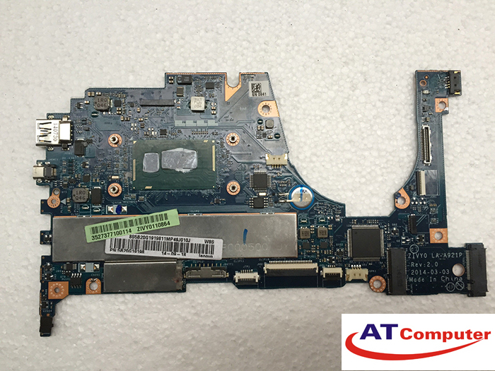 MainBoard LENOVO Yoga 2 13, i5-4210U, VGA share. Part: 5B20G19198, LA-A921P