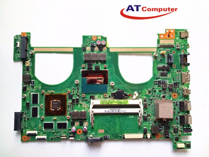 MAINBOARD ASUS N550JV, i7-4700HQ, VGA rời. Part: 60NB00K0, MB9110