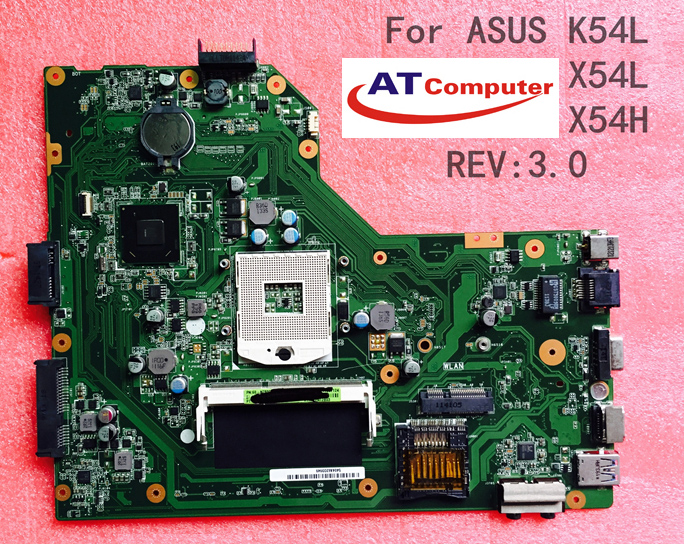 MAINBOARD ASUS X54, K54, VGA share. Part: 60-N9TMB1000-B13