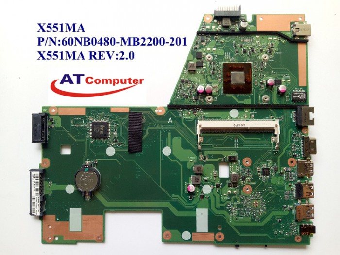 MAINBOARD ASUS X551M, VGA share. Part: 60NB0480-MB2200