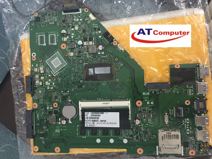 MAINBOARD ASUS X550LD, i5-4200U, VGA share. Part: 90NB02F1-R00010